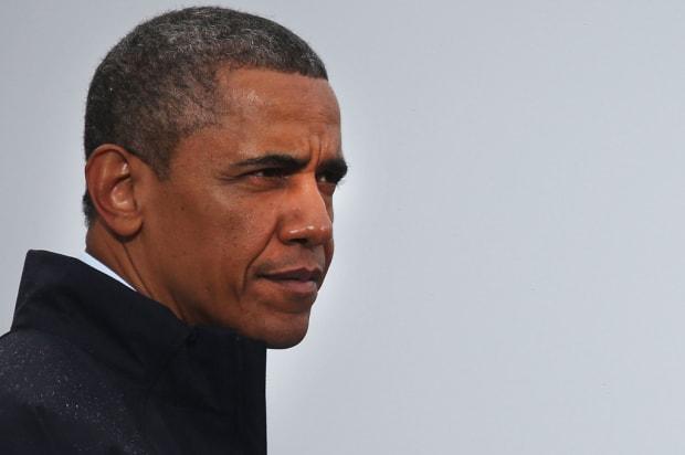 A less high-quality portrait of Barack Obama